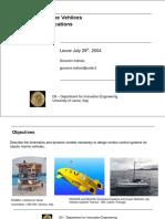 Marine Robotics Modeling