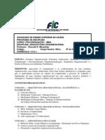 Arquitetura Organizacional - Programa SET10
