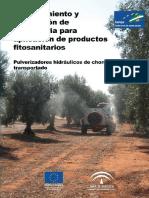 Pulverizadores Hidraulicos de Chorro Transportado Versixn 2011