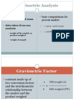 11 Gravimetric Methods