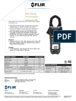 FLIR CM78 Datasheet