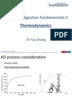Anaerobic Digestion Fundamentals II
