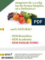 Dieta Detox Sem Segredos Para Perder Peso