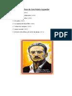 Obras de José María Arguedas