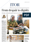 From Despair to Dignity