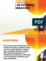 AUDITORÍA DE SISTEMAS DE INFORMACIÓN PRESENTACIÓN.ppt