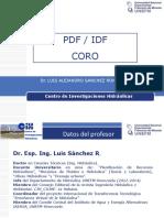 Pde - Idf Estacion Coro (Marzo 2014) Dr Sánchez
