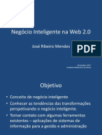 Negócio Inteligente Na Web 2.0