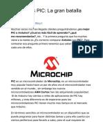 Arduino vs PIC