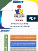 1A Constructivismo y Socioconstructivismo