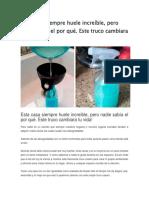 Ambientador Casero Receta