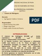 Cianuro de Hidrogeno
