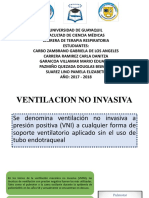 Generalidades de La Ventilacion Mecanica No Invasiva