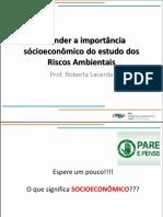 Importância Socio Economica Dos Riscos Ambientais (1)