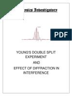 Physics Investigatory