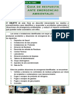 Guia Basica Emergencia Ambiental en Pagina