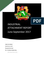 Kenya Pipeline Company Kenya Attachment Report
