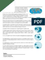 Geografía wikipedia