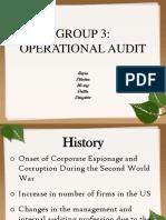 Operational Audit- Presentation