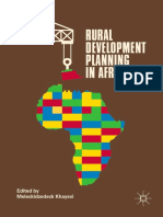 Khayesi 2018-Rural Development Planning in Africa