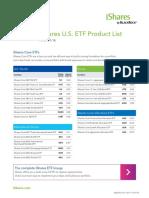 Ishares Product List en Us