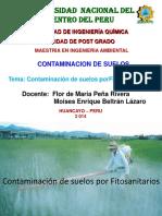 Contaminación Por Fitosanitarios. Plaguicidas