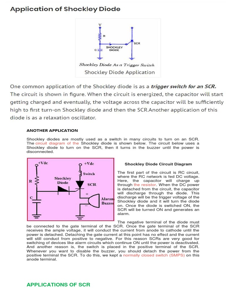 Thy Risto Rs Rectifier Capacitor Scr Triggering Circuit
