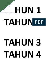 TAHUN 1