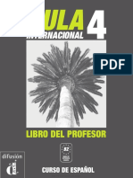 Aula Internacional 4 Libro Del Profesor-espanhol