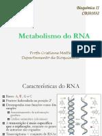 23 Metabolismo RNA