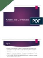 Análisis de Contenido - Pruebas Proyectivas
