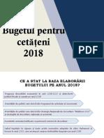 Buget Cetateni 2018