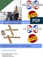 Project Status Report - Arcsight
