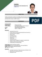 Example Resume