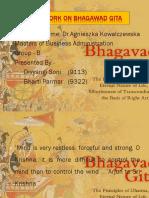 Bhagawad-Gita on Teamwork