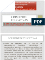 Corrientes Educativas