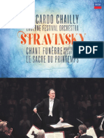 IGOR STRAVINSKY Early Orchestral Works