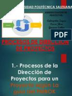 2. Procesos de Dirección de Proyectos