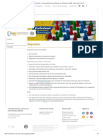 Requisitos - Sociología - Universidad Nacional Abierta y a Distancia UNAD - Educación Virtual