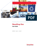 3091 NanoDrop One Help User Guide En