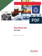 3091 NanoDrop One Help User Guide En