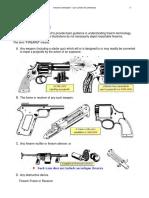 Definitions Firearms