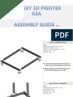 Tronxy X3A Assemble Guide v.02