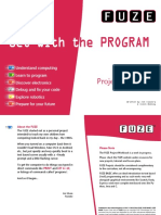 FUZE Project Workbook