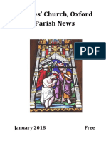 St Giles' Church, Oxford January 2018 Parish News