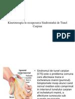 Kinetoterapia În Recuperarea Sindromului de Tunel Carpian