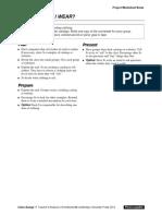 Interchange4thEd Level1 Unit09 Project Worksheet