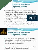 Introducción Al Análisis de Regresión Simple_Estadítica