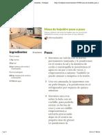 Masa de Hojaldre Paso a Paso Receta de Elfornerdealella - Cookpad