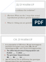 Ch23 HW Populations